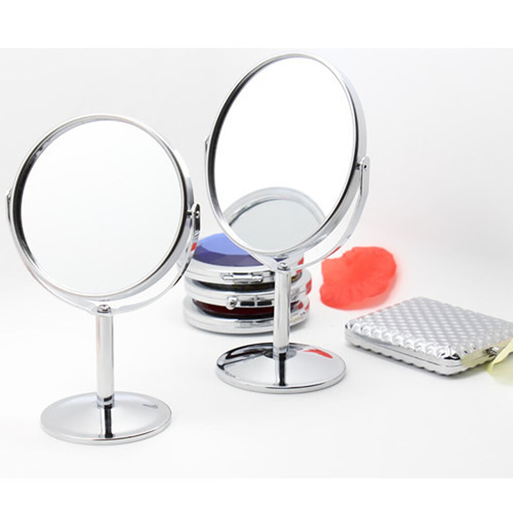 Double sided beauty makeup cosmetic mirror and normal for Beauty mirror