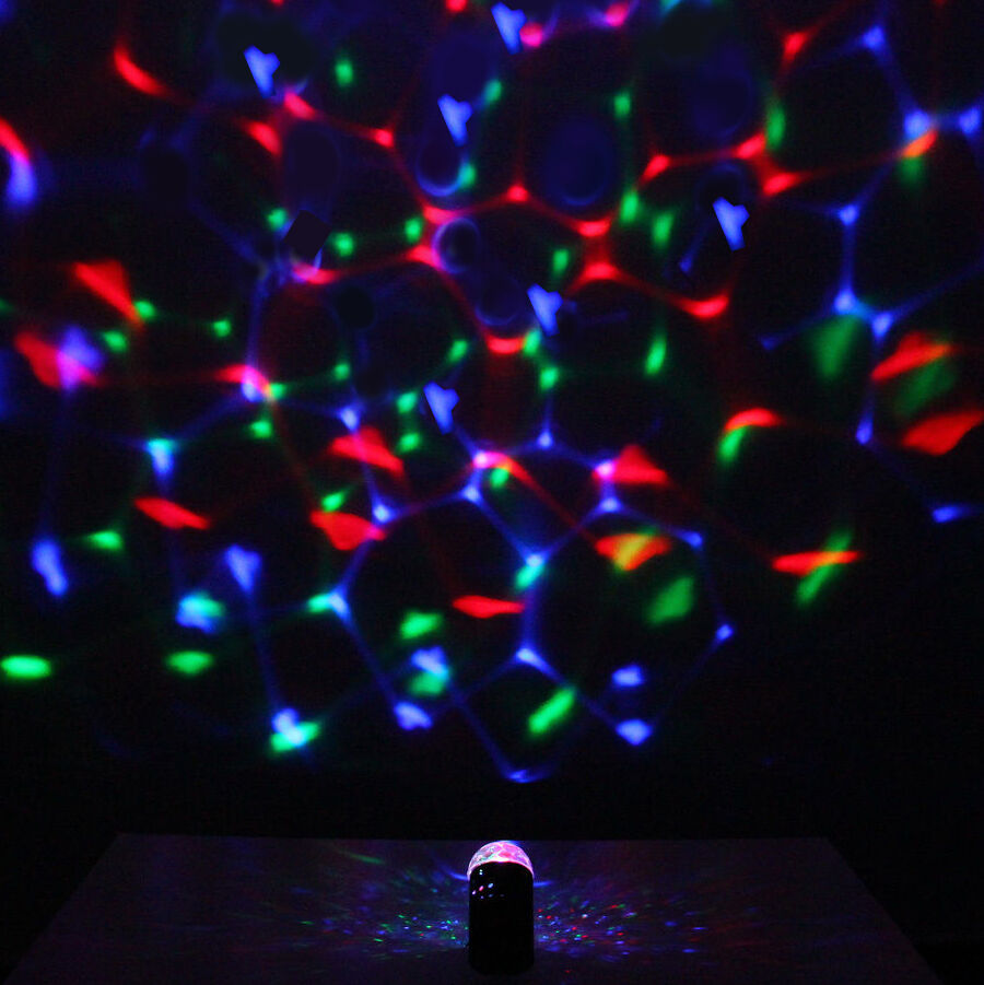 Wireless Bluetooth Mini Mp3 Music Speaker Led Disco Mirror