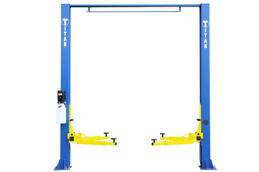 10000 Lb Car Lift >> Titan 9,000 lb 2-Post Clear Floor Lift: Local Pickup Only | eBay