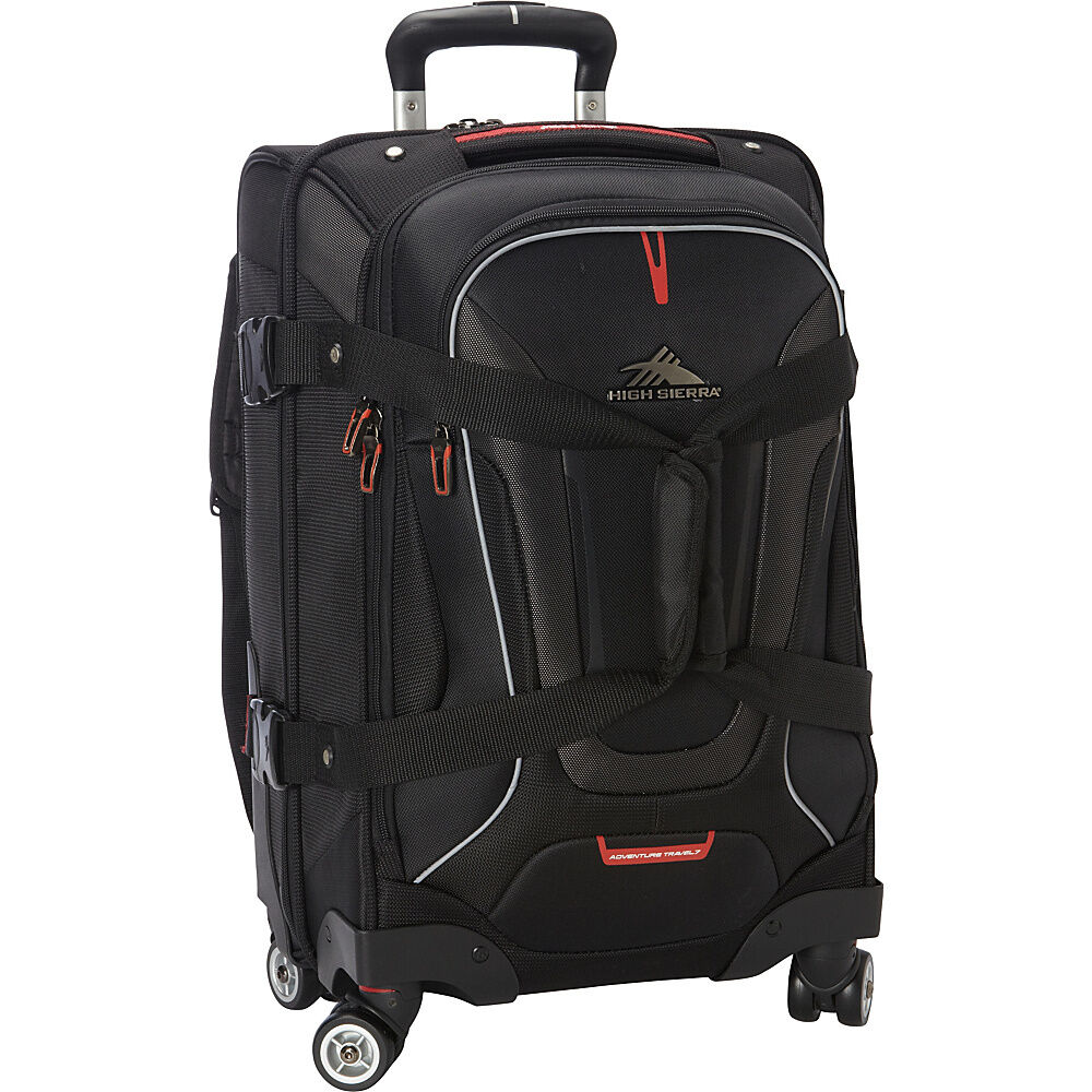 High Sierra AT7 Carry on Spinner Duffel with Backpack Travel Duffel ...