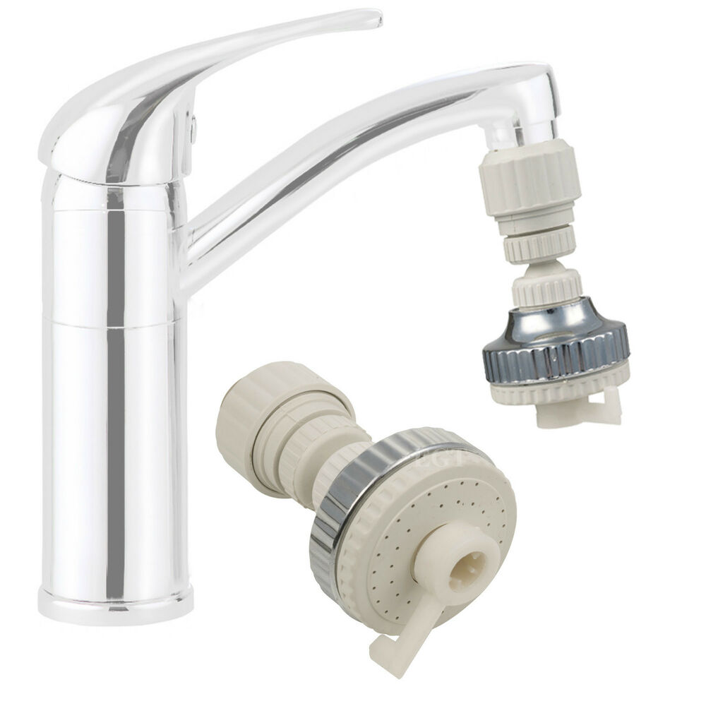 Swivel Aerator For Kitchen Faucet: 2 In1 Eco Water Saving Kitchen Tap Faucet Aerator 360