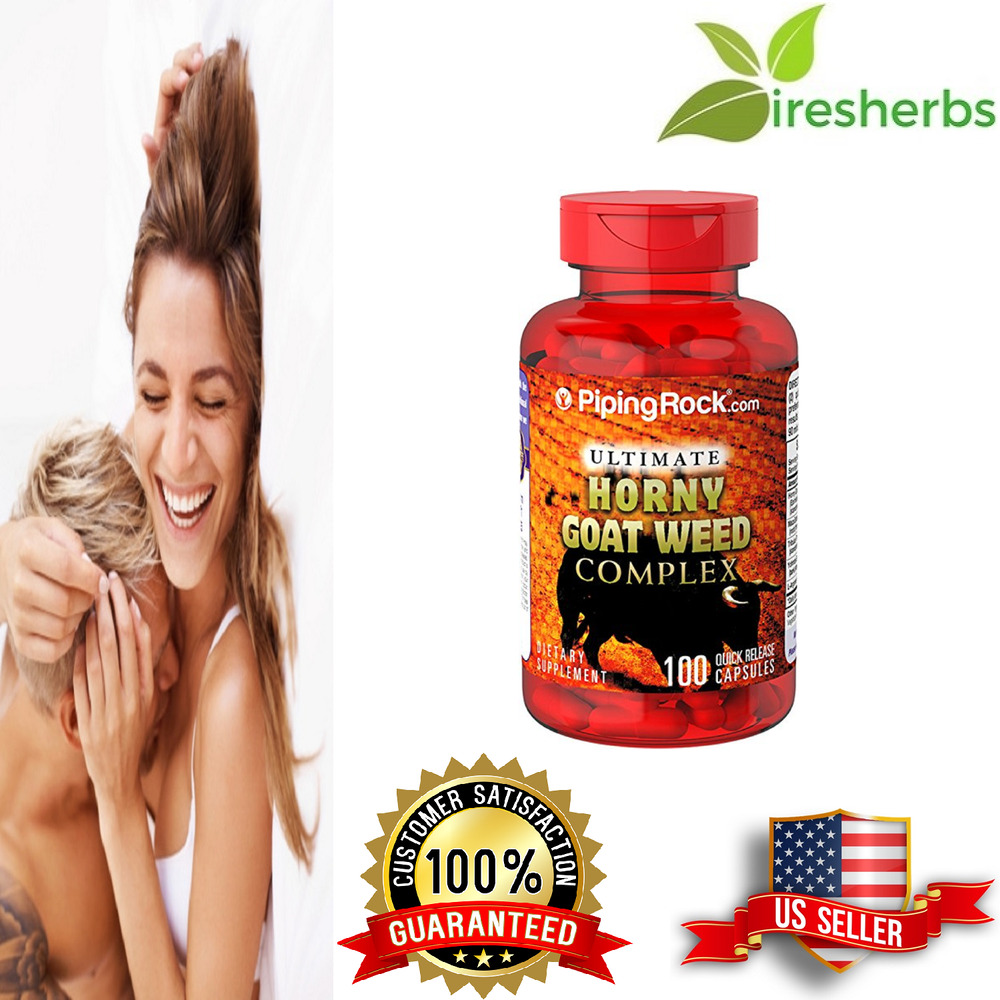 Ultimate Horny Goat Weed Complex 1750 Mg Sex Drive