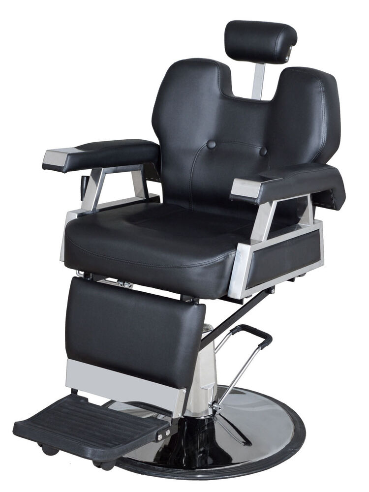 Hydraulic Wheelchair Seat : New all purpose hydraulic recline barber chair beauty