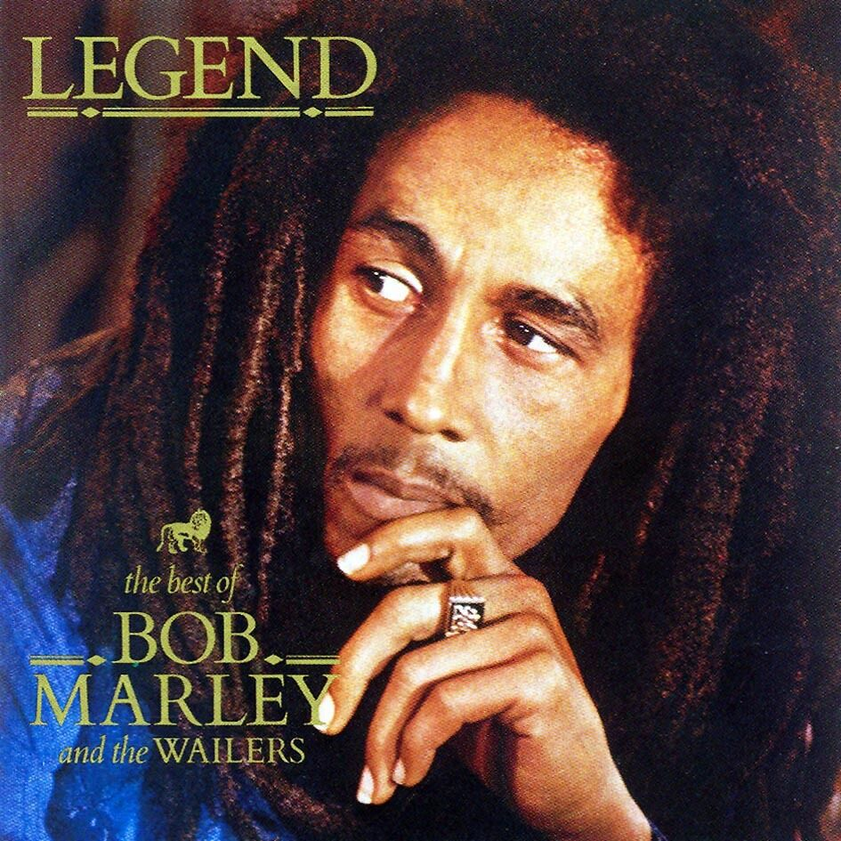 BOB MARLEY AND THE WAILERS LEGEND CD ALBUM (BEST OF
