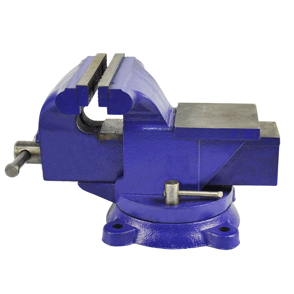 Bench Vise Vice 125mm 5 Inch 5 Jaw Clamp Swivel Base For
