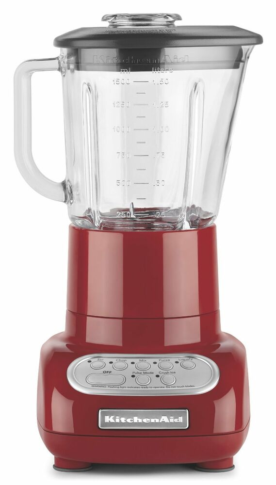 New Kitchenaid Blender With Glass Jar 5 Speed Ksb565er