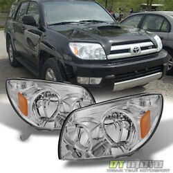 Kyпить For 2003 2004 2005 Toyota 4Runner Replacement Headlights Lamps Left+Right 03-05 на еВаy.соm