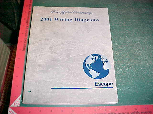 2001 Ford Escape Wiring Diagrams Manual Gas Models Xlnt
