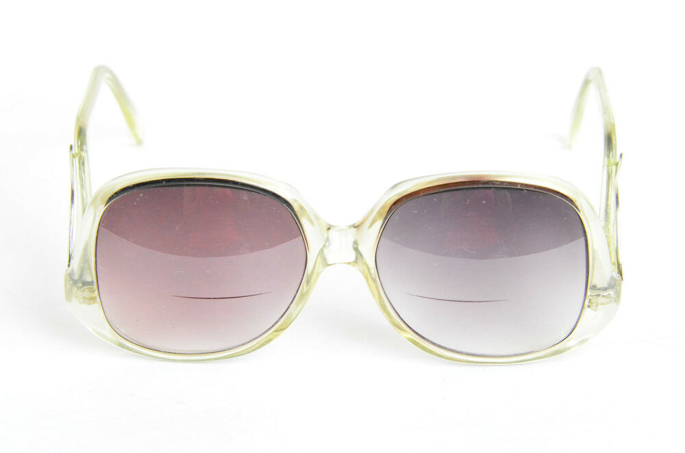 Big Plastic Frame Glasses : Vintage 1980s Big Eye Clear Plastic Frame Eyeglasses ...