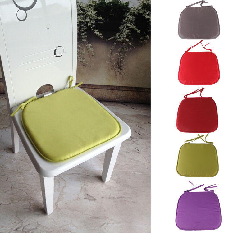 Kitchen Table Chair Cushions: Dining Garden Patio Kitchen Office Home Decor Chair Seat