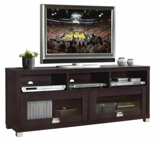 Tv stand entertainment media center theater cabinet storage home decor furniture ebay Home furniture tv stands