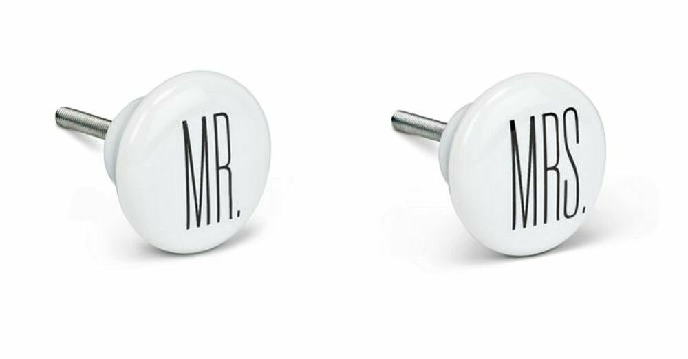 Mr and mrs dresser bureau drawer replacement knobs pulls for Knobs for bureau