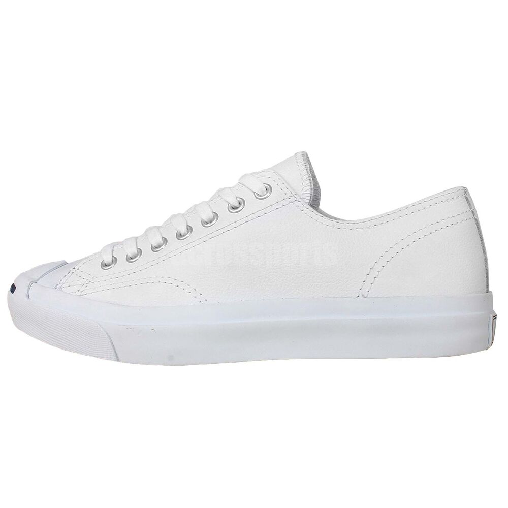 Converse Jack Purcell Leather White Unisex Classic Unisex ...