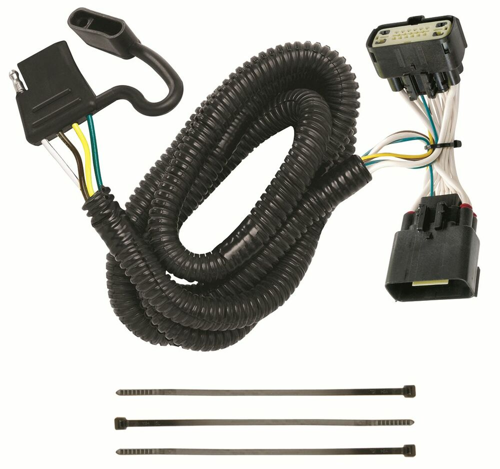 Ford Trailer Wiring Harness Kit : Ford explorer trailer hitch wiring kit harness