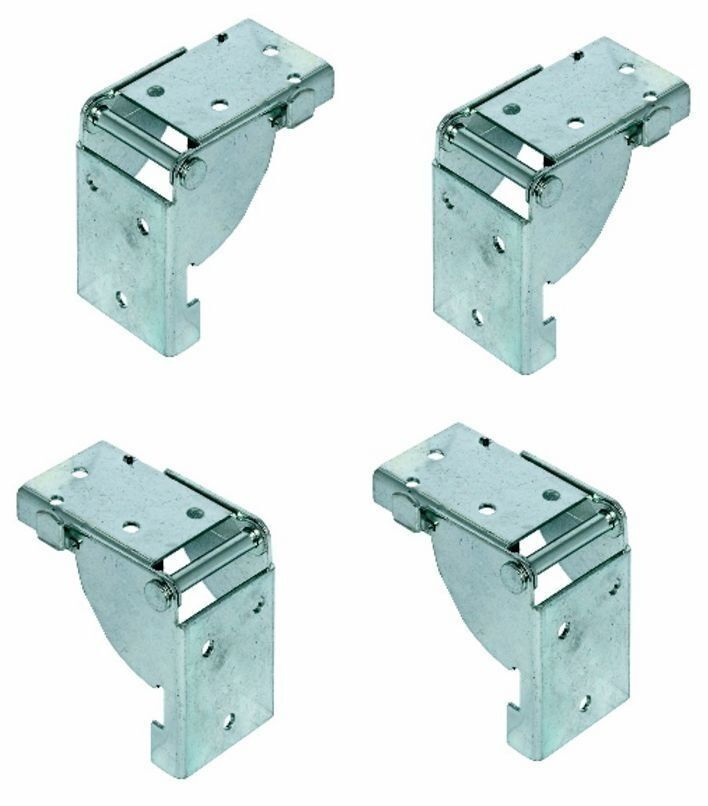 4 folding table leg brackets locks in position open and for Table locks acquired immediately 99