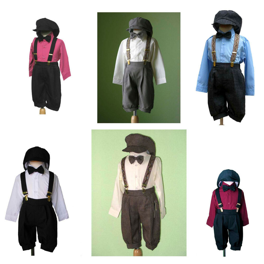 Boys Infant Toddler Knickers Vintage Outfit Set, Many ...