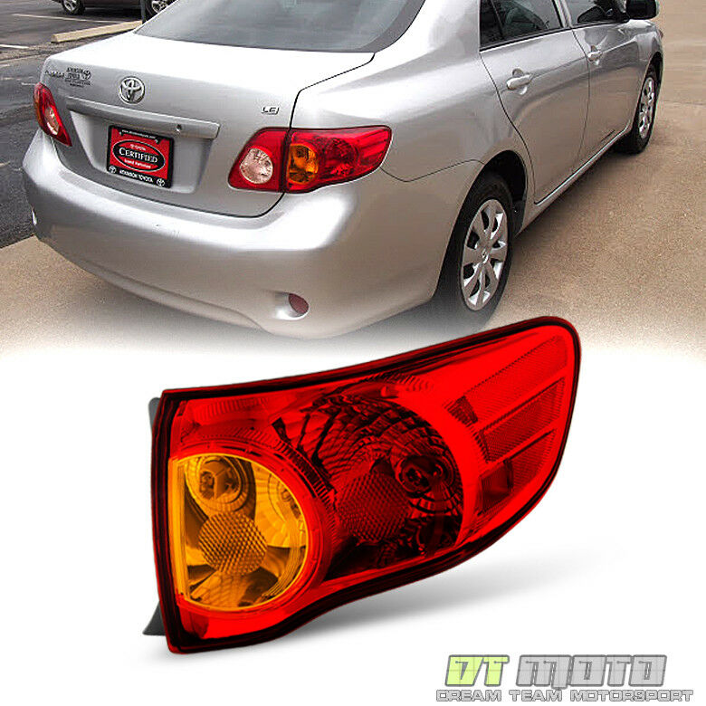 Toyota corolla tail lights rear brake lamps