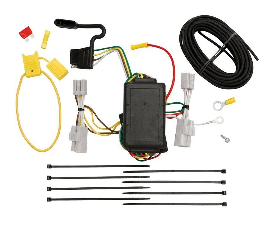 Trailer Wiring Harness Rav4 : Toyota rav trailer hitch wiring kit harness