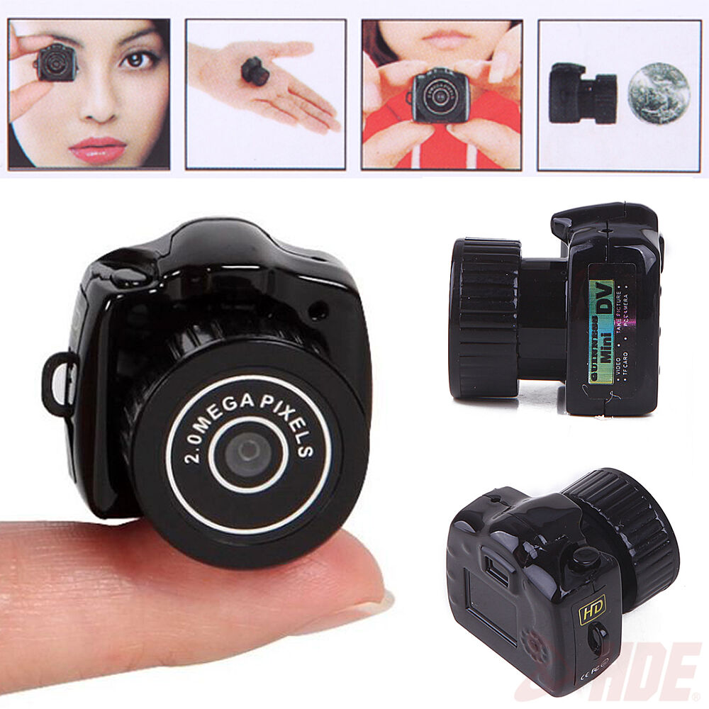 smallest mini camera camcorder pinhole dvr hidden digital video recorder webcam ebay. Black Bedroom Furniture Sets. Home Design Ideas