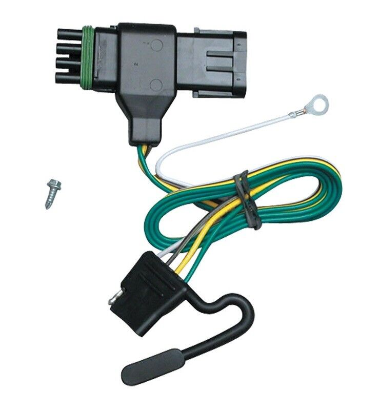 1988-2000 gmc pickup c/k 2500/3500 trailer hitch wiring ... chevy 7 way trailer plug wiring diagram chevy trailer plug wiring #12
