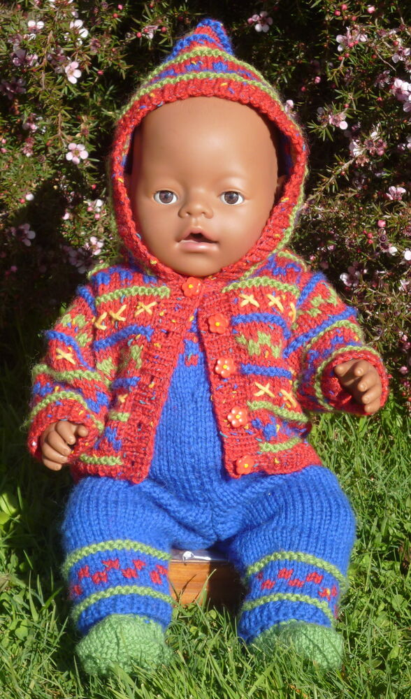 Bailey KNITTING PATTERN BOOKLET for making Baby Born Doll ...