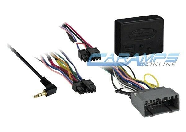 New Car Stereo Replacement Factory Interface Module Wiring Harness