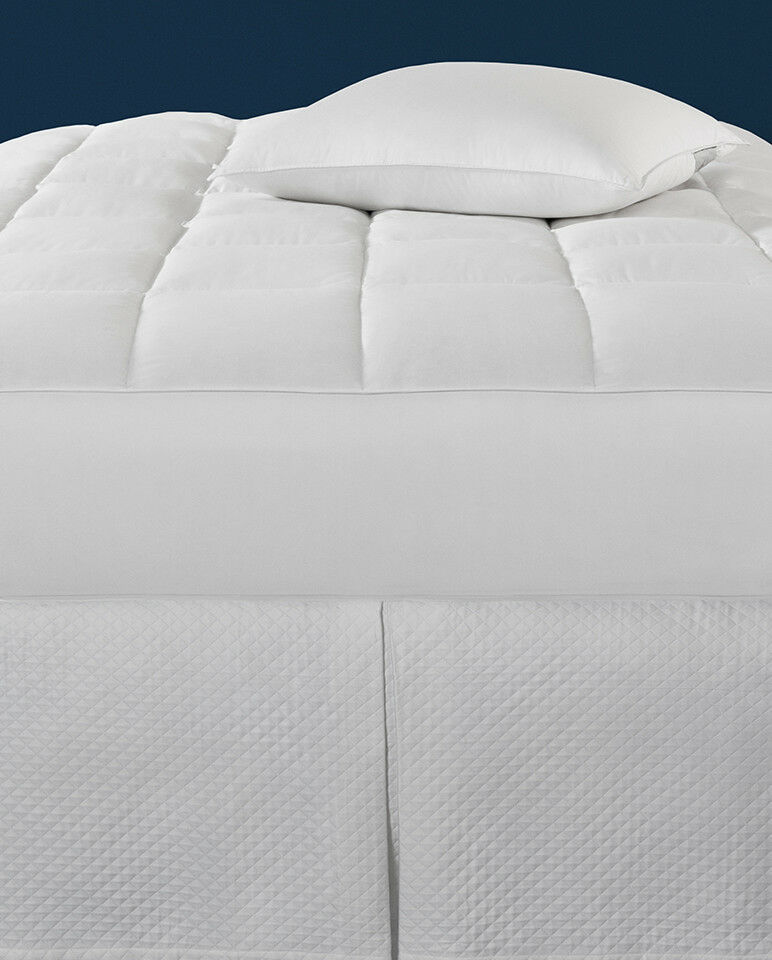 SFERRA MONMOUTH GOOSE DOWN MATTRESS PAD WITH 600+FILL ...