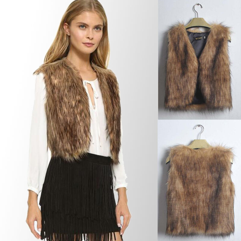 This is a new women's black Faux Fur Vest. This vest was part of the team up between Neiman Marcus and Target. This vest has button closures and has all the original tags attached.
