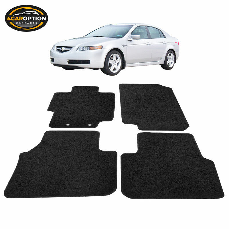 Fit 04-08 Acura TL 4Dr Floor Mats Carpet Front & Rear