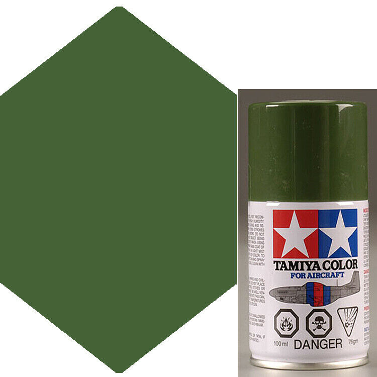 Tamiya As 23 Light Green German Air Lacquer Spray Paint 3 Oz Ebay