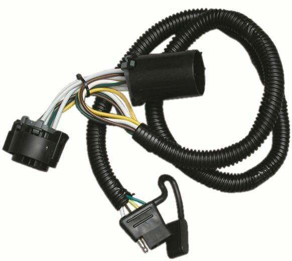 1999-2004 CHEVY SILVERADO 2500 TRAILER HITCH WIRING KIT W ...