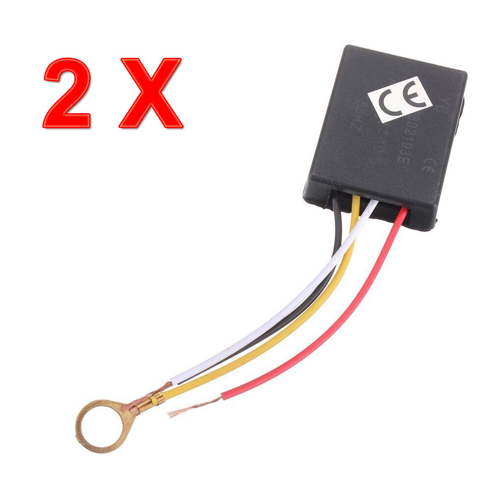 2p x 3way touch sensor switch control for repairing lamp desk light bulb dimmer ebay. Black Bedroom Furniture Sets. Home Design Ideas