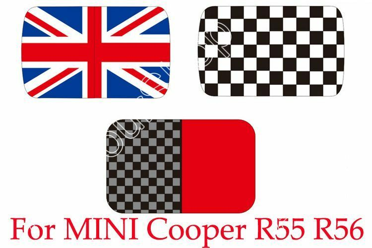 Checkered Union Jack Roof Decal Stickers Graphic For Mini
