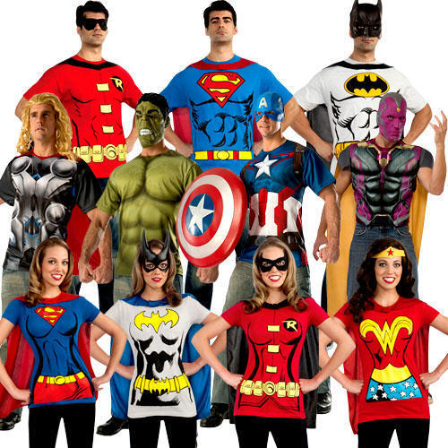Save the day with these superhero t-shirts. Like a lot of 80s kids, we were first exposed to superheroes not through the comic books, but from classic shows like Super Friends, the live action Incredible Hulk show, and Spider-Man and His Amazing Friends.