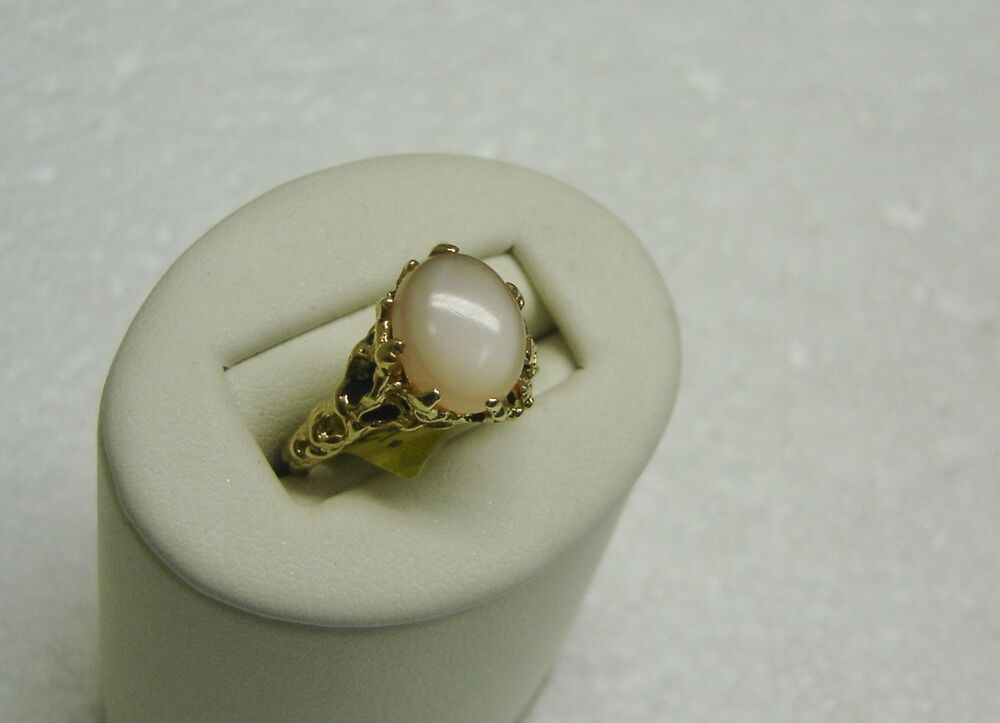 Pearl And Diamond Ring Yellow Gold
