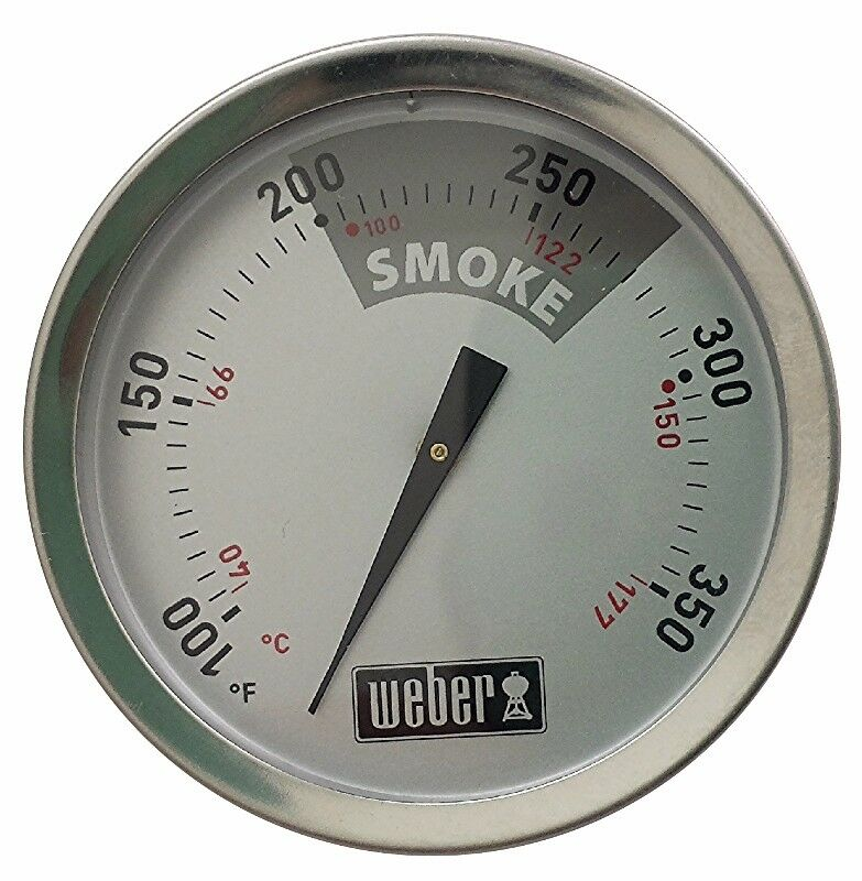 weber replacement thermometer 22 5 smokey mountain cooker ebay. Black Bedroom Furniture Sets. Home Design Ideas