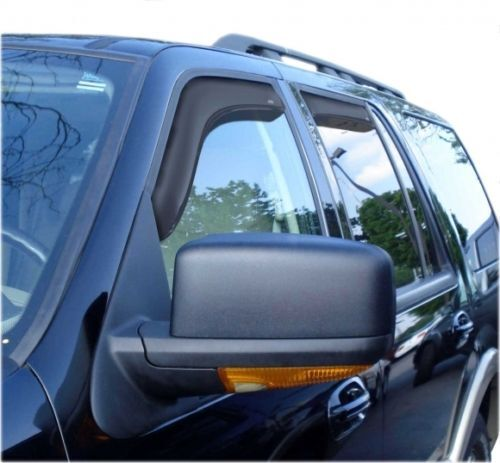 Window Vent Visors Shades In Channel 194233 For Ford