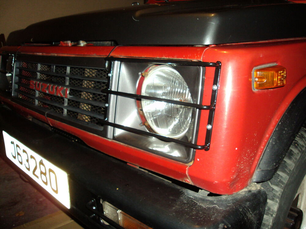 Suzuki Sj410 Amp Sj413 Headlight Light Guards Ebay