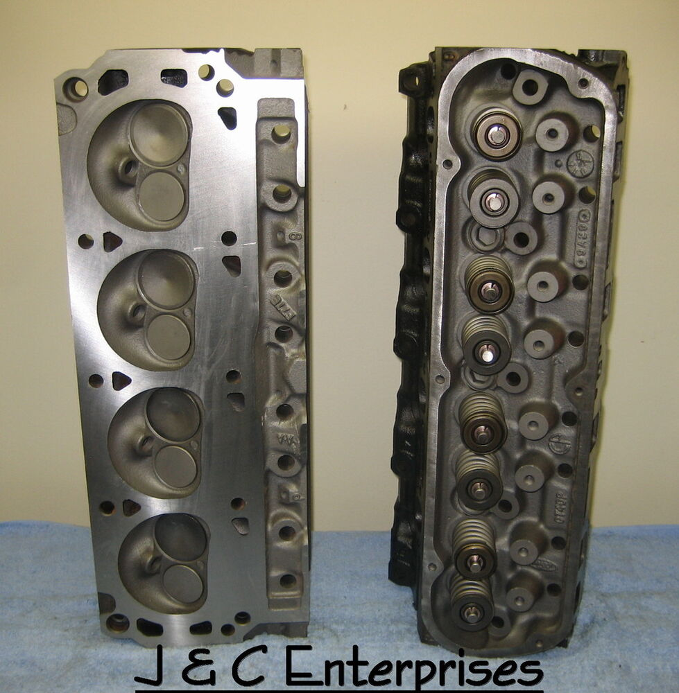 REBUILT 302 SMALL BLOCK FORD 5.0 CYLINDER HEADS E7TE NO