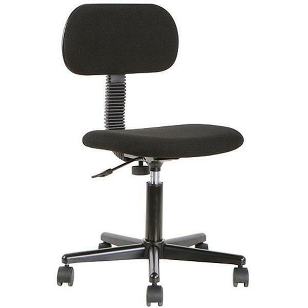 Mainstays Fabric Task Swivel Chair On Casters Office Desk