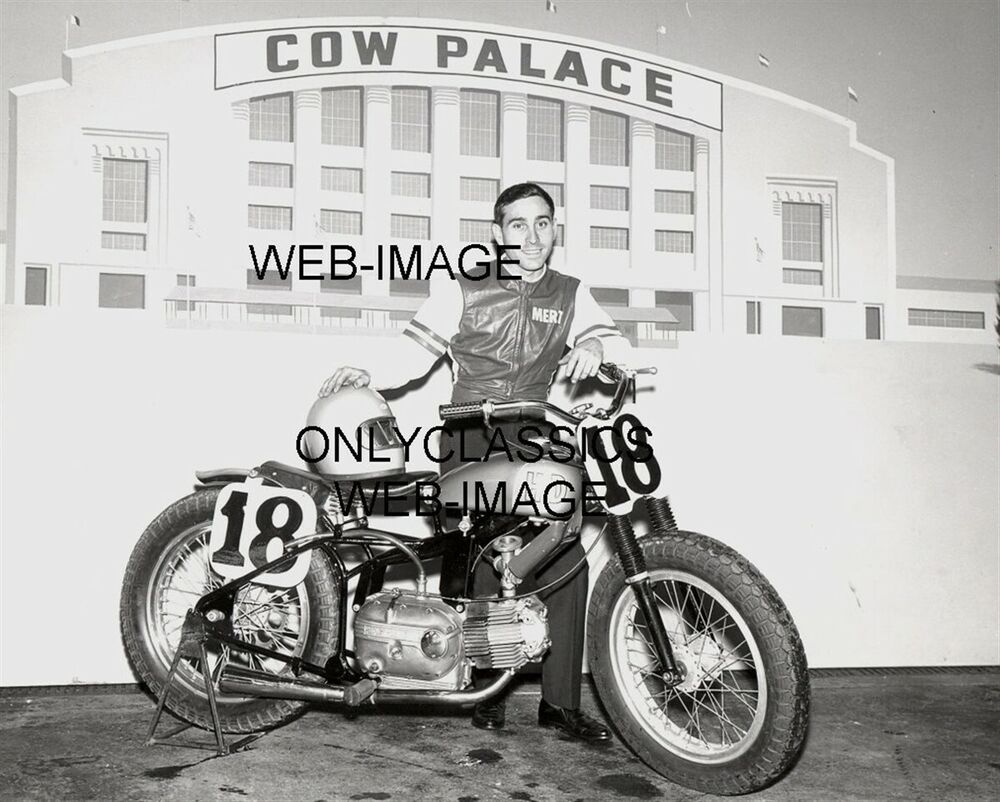 1973 Harley Davidson Xr 750 Motorcycle Cool Daredevil: 1965 Mert Lawwill Motorcycle Racing Cow Palace California
