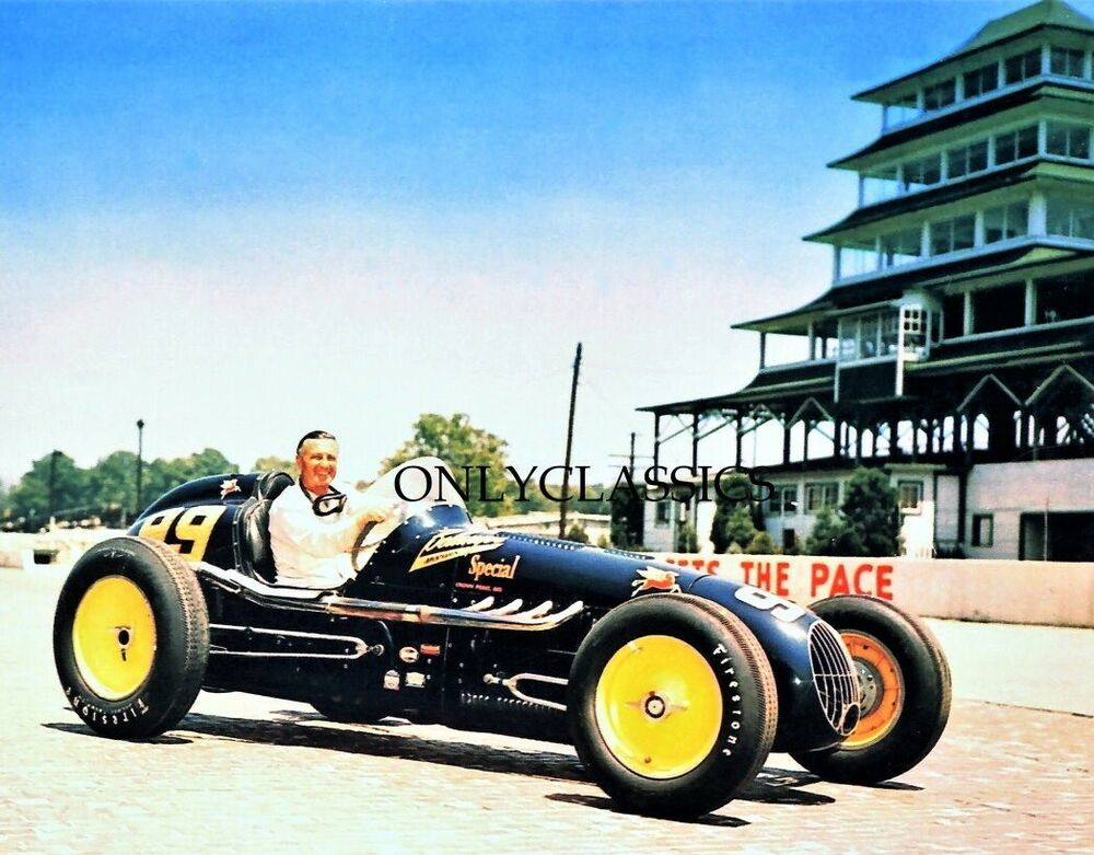 1951 lee wallard indy 500 sprint racer photo indianapolis for Indianapolis motor speedway clothing