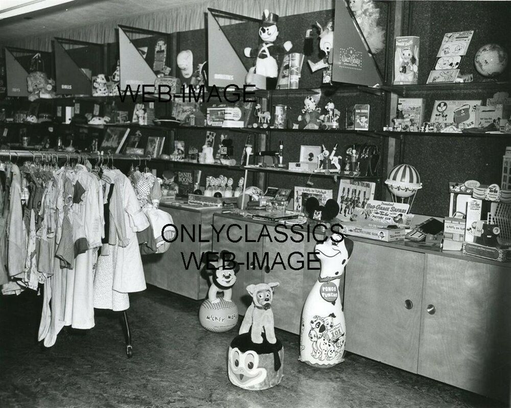 1963 disneyland toy amp souvenir gift shop early photo