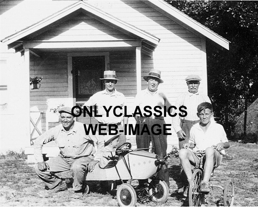Antique Airplane Tricycle : Vintage airplane pedal car tricycle bicycle photo