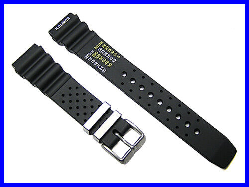20mm generic rubber watch band strap for citizen aqualand for Watch duplex free online