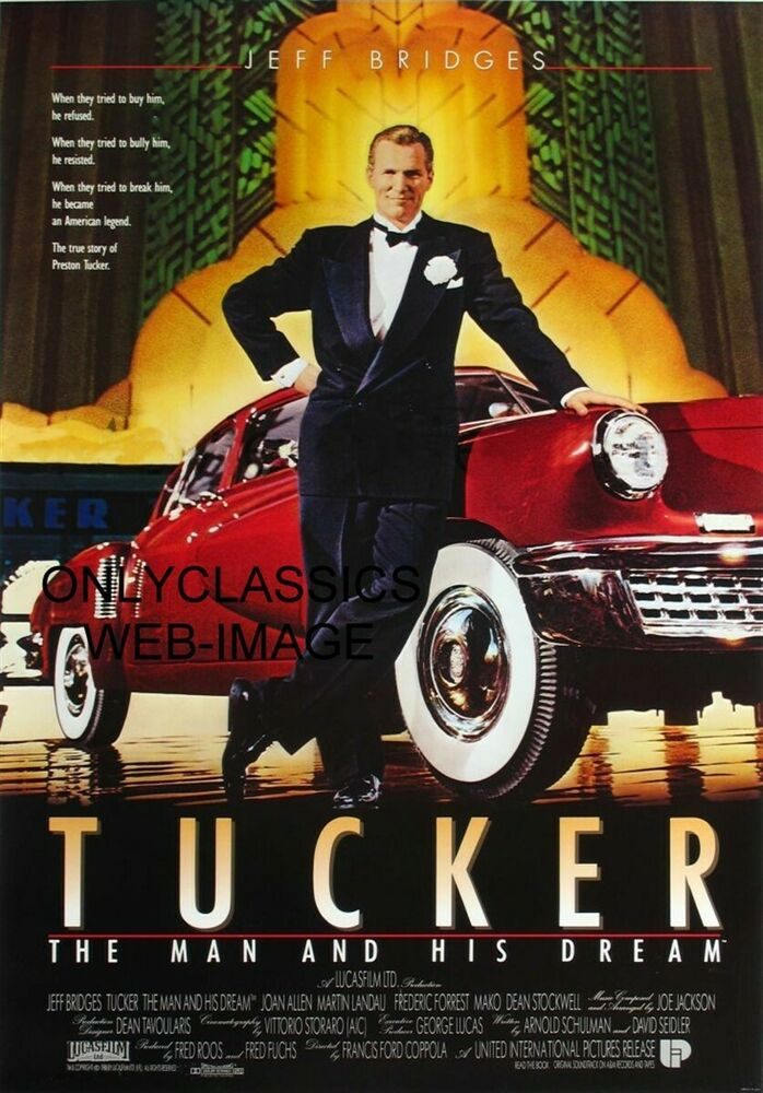 the tucker dream essay Free essay: movie: tucker - preston tucker preston tucker was a car-crazy   everyone has their own dream, but not everyone can make their dream come  true.