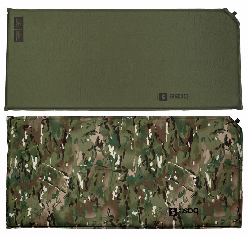 Army Military Self Inflating Air Bed Camping Mattress Foam