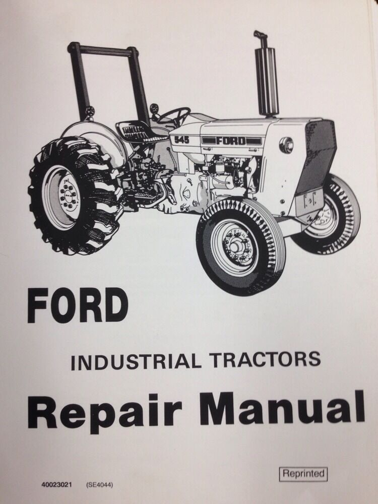 ford tractor service manual repair shop 230a 231 335 340a. Black Bedroom Furniture Sets. Home Design Ideas