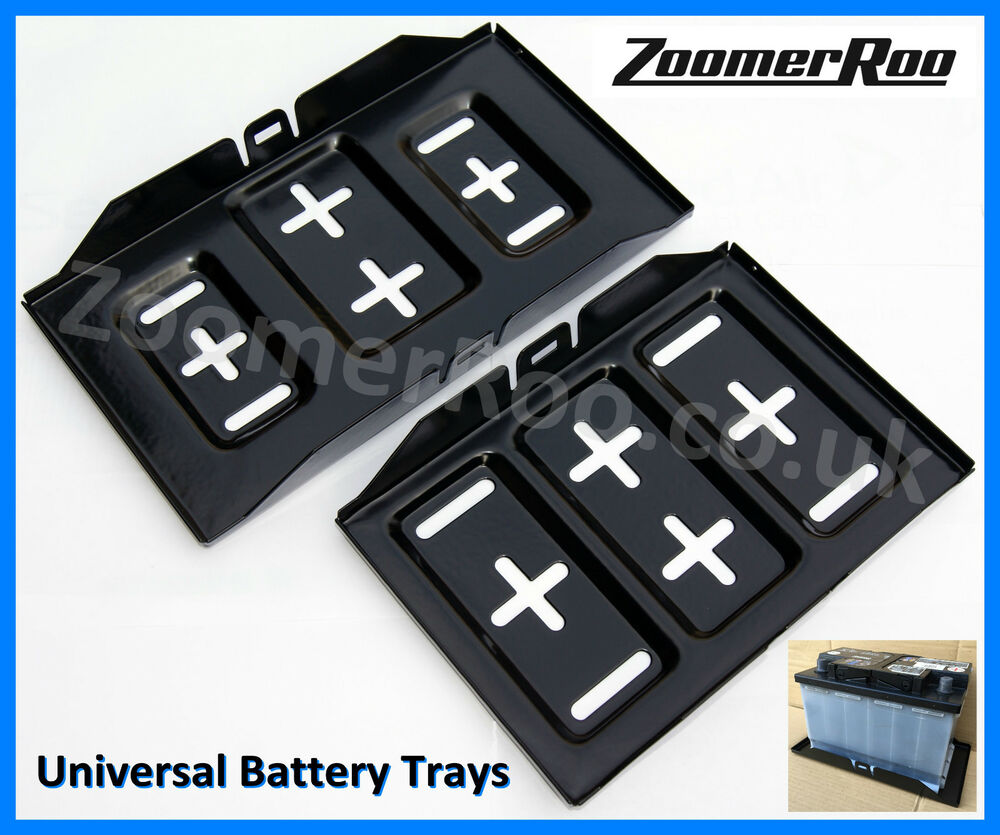 Universal Car Battery Tray Small 274mm x 183mm or