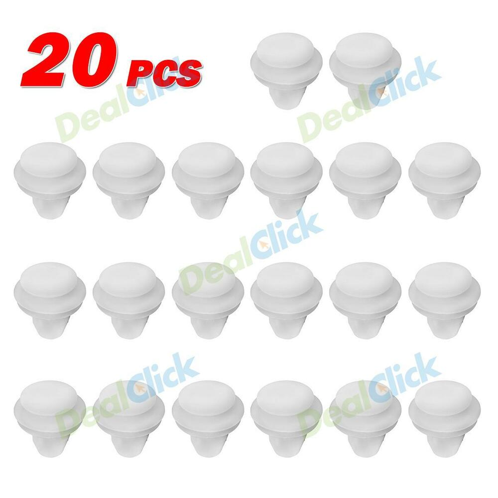 20 Door Trim Panel Scuff Plates Retainers Clips For Mazda